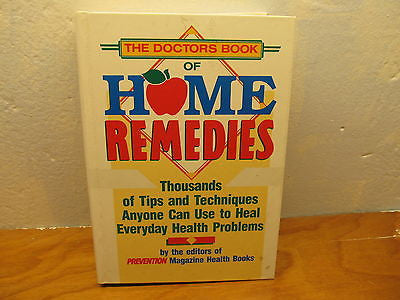 HOME REMEDIES PRINTED ON ACID FREE RECYCLED PAPER BY THE WRITERS OF PREVENTION MAGAZINE - Andres James Vintage Boutique