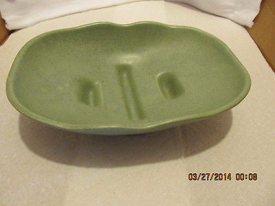 VINTAGE McCOY GREEN DISH NUMBER 1302 MADE IN THE USA - Andres James Vintage Boutique - 1