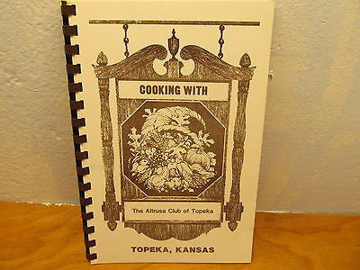 COOK BOOK FROM TOPEKA KANSAS - Andres James Vintage Boutique