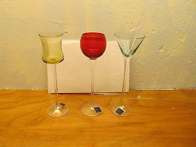 ASSORTED BAR GLASSES BY CIRCLE WARE - Andres James Vintage Boutique