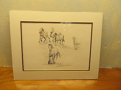 SIGNED PRINT BY ARTIST R. GLENN GARRISON IT IS # 101 OF 200 EXCELLENT CONDITION - Andres James Vintage Boutique - 1