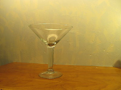 LUMINARC EXTRA LARGE MARTINI GLASS - Andres James Vintage Boutique
