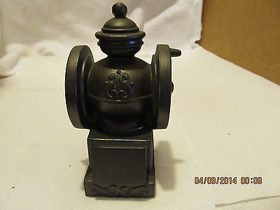 VINTGE BANTHRICO INC. COFFEE GRINDER BLACK METAL BANK MADE IN CHICAGO ILL. - Andres James Vintage Boutique - 2
