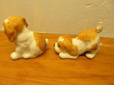 SET OF VINTAGE HOMCO PORCELAIN DOGS - Andres James Vintage Boutique - 2