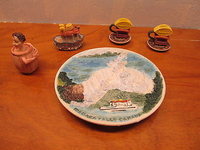 MINIATURE TEA SET BY POPULAR IMPORTS OF NIAGARA FALLS YEAR 1996 - Andres James Vintage Boutique