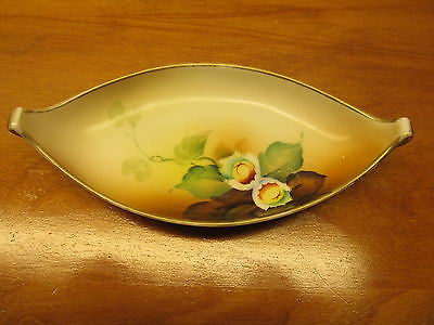 ANTIQUE NIPPON HAND PAINTED DISH - Andres James Vintage Boutique