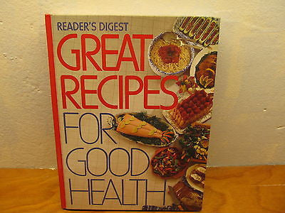 GREAT RECIPES FOR GOOD LIVING BY READER'S DIGEST HARD COVER - Andres James Vintage Boutique