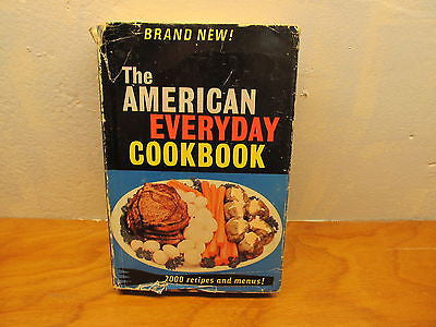 VINTAGE THE AMERICAN EVERYDAY COOK BOOK COPYRIGHT 1955 - Andres James Vintage Boutique - 1