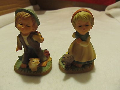 SET OF VINTAGE NAPCO KISSING BOY AND GIRL - Andres James Vintage Boutique - 1