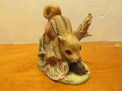 VINTAGE HOMCO CHIPMUNK FIGURINE # 8882 - Andres James Vintage Boutique - 1