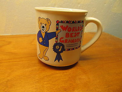 VINTAGE WORLD'S BEST GRANDPA MUG - Andres James Vintage Boutique - 1