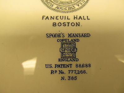 SPODE'S MANSARD VINTAGE DECORATIVE HISTORIC PLATES - Andres James Vintage Boutique - 4