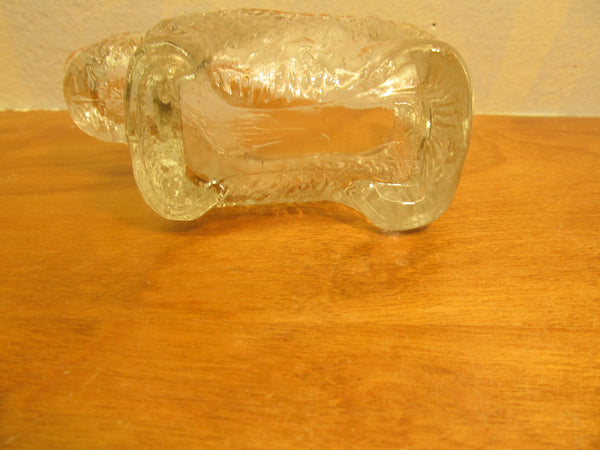 Clear Glass Scottie Dog Dresser Dish