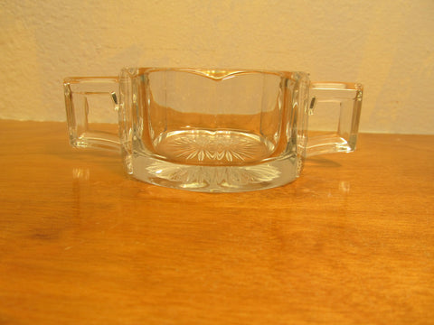Double Handle Sugar Bowl with no Lid