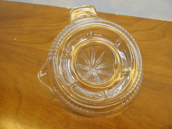 VINTAGE CLEAR GLASS REAMER - Andres James Vintage Boutique - 3