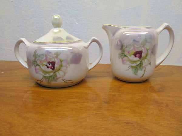 VINTAGE MADE IN GERMANY SUGAR AND CREAMER SET - Andres James Vintage Boutique - 1