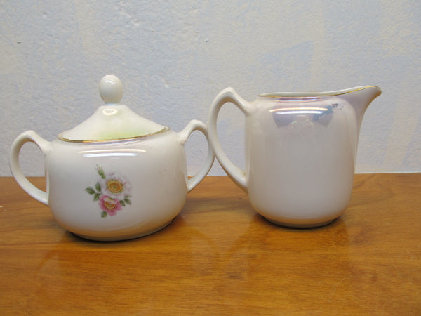 VINTAGE MADE IN GERMANY SUGAR AND CREAMER SET - Andres James Vintage Boutique - 2