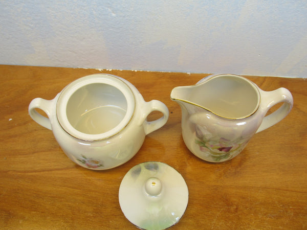VINTAGE MADE IN GERMANY SUGAR AND CREAMER SET - Andres James Vintage Boutique - 3