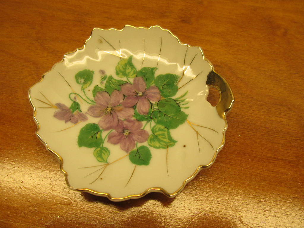 VINTAGE NASCO LEAF TEA BAG HOLDER - Andres James Vintage Boutique - 1