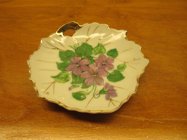 VINTAGE NASCO LEAF TEA BAG HOLDER - Andres James Vintage Boutique - 2
