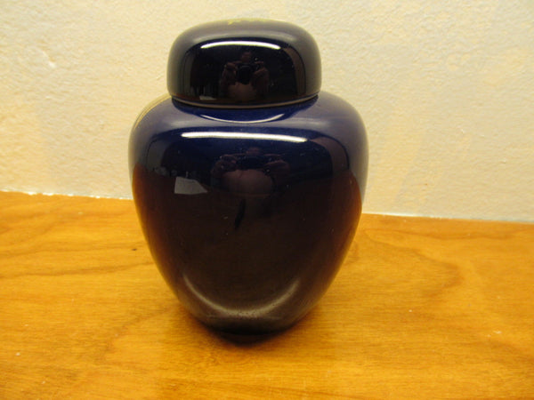 COBALT BLUE URN - Andres James Vintage Boutique