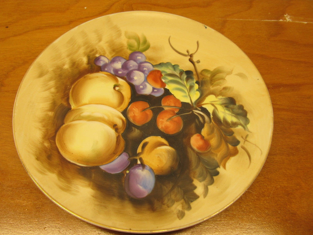 VINTAGE LEFTON CHINA DECORATIVE WALL DISH # SI-3208 MADE IN JAPAN - Andres James Vintage Boutique - 1