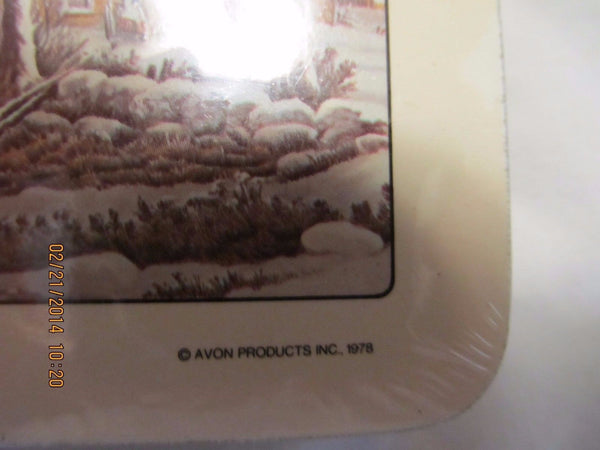 STILL IN THE PACKAGE VINTAGE AVON COASTERS - Andres James Vintage Boutique - 2