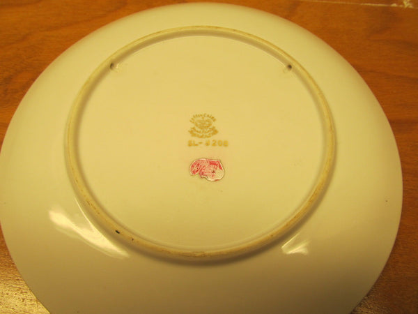 VINTAGE LEFTON CHINA DECORATIVE WALL DISH # SI-3208 MADE IN JAPAN - Andres James Vintage Boutique - 3