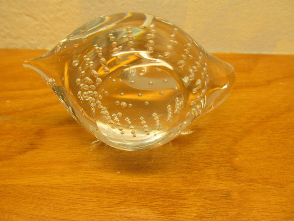 vintage swan paperweight - Andres James Vintage Boutique - 3