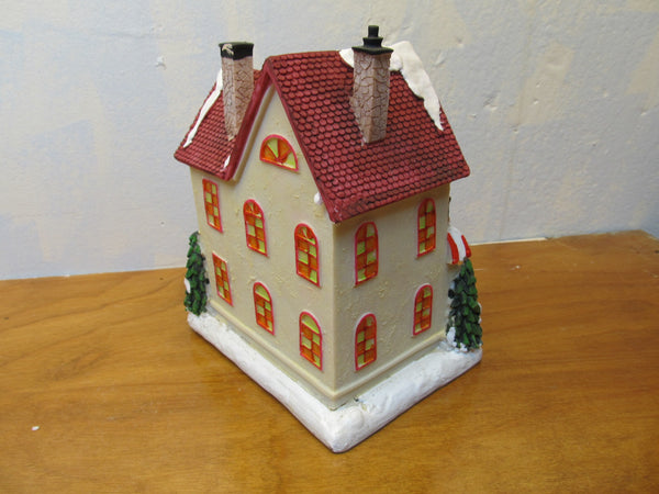 HOLIDAY BAKERY MUSICAL FIGURINE - Andres James Vintage Boutique