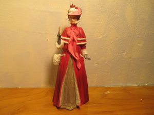 from Avon Mrs. Albee porcelain figurine from 1989 - Andres James Vintage Boutique