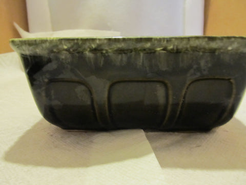 VINTAGE DECORATIVE HULL PLANTER GREEN COLOR WITH F 469 - Andres James Vintage Boutique - 1