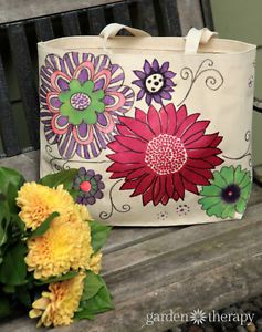 What Paint Works Best On Canvas Bags 004