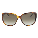 Chopard Imperiale SCH-184 752 Women Tortoise Brown & Gold Square Sunglasses