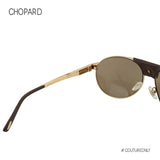 CHOPARD LIMITED EDITION SCH-A25-08FC Aviator Sunglasses Gold 23K GP Brown Trim Pilot Mirrored Non-Polarized 60mm