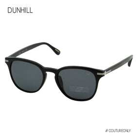 Dunhill Black Silver Pantos-Aviator Men Sunglasses SDH-012-0700 Gray Lens 3N Non-Polarized