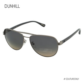 Dunhill Palladium Gray Aviator SDH-053-0509 Gradient Grey Cat 3 Polarized