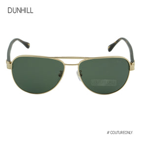 Dunhill Gold Havana Brown Aviator SDH-053-300P Green Gradient Category 3 Polarized
