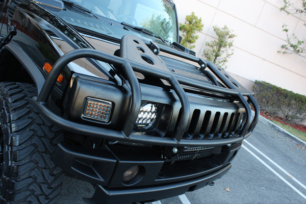 Hummers For Sale >> Hummercore Hummer H2 Brush Guard Front Bumper