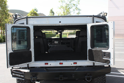 Hummer H1 Luxury Interior - Rear Carpet Kit (Wagon)