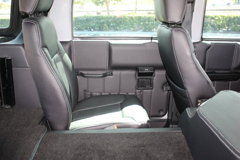 Hummer H1 Luxury Interior - Seats