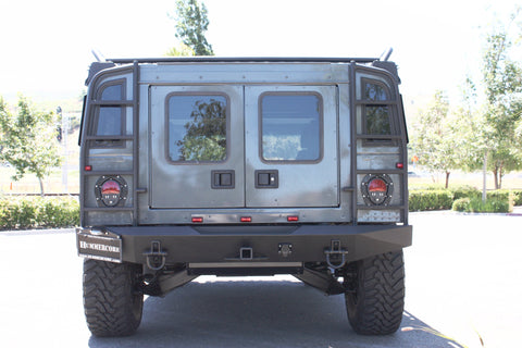 Hummercore Hummer H1 Rear Bumper with Ladders