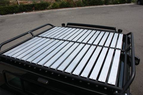 Hummercore Hummer H1 Low Profile Roof Rack 6'