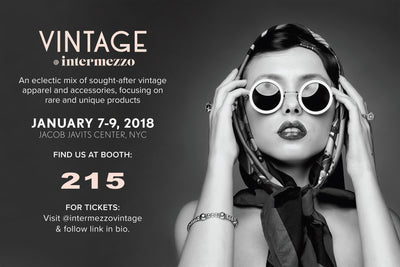 Dressing Vintage Starts the New Year at Vintage Intermezzo in NYC