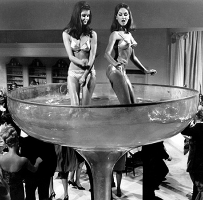Vintage Musings about New Year's Eve and Dropping the Ball of Fun