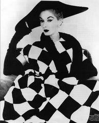 Jerry Parnis dress by Irving Penn