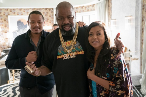 Biz Markie, Taraji P. Henson and Terrence Howard in Empire
