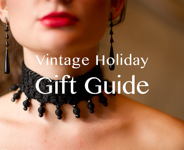 Dressing Vintage Accessories Holiday Gift Guide