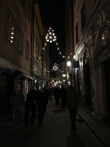 Winter Magical Twinkle Lights Stockholm for Christmas