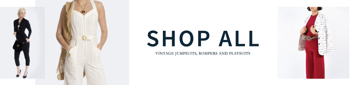 Vintage Jumpsuits and Rompers
